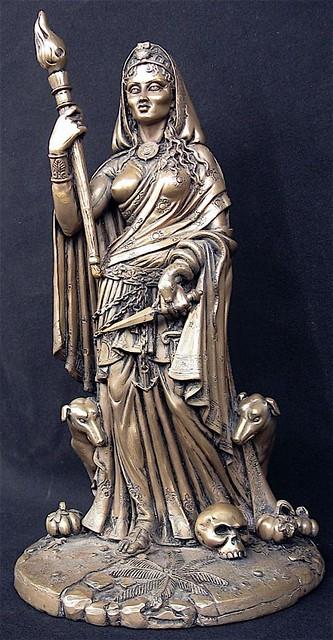 Hecate Statue Moonliteve Flickr