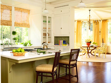 franke kitchen faucet rustic light fixtures yellow + white cabinets painted island: 'pale ho ...