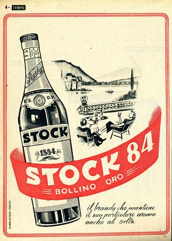 Pubblicit anni 50 Stock 84  Collne MAlgozzino