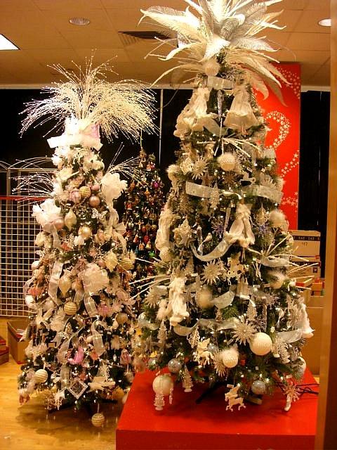 Macys Christmas Trees 3 2009  Supervising Christmas tree