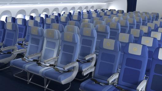 Economy Class interior A350 Lufthansa