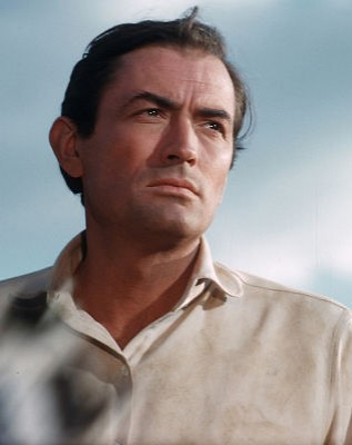 Gregory Peck in The Big Country  Gregory Peck in The Big