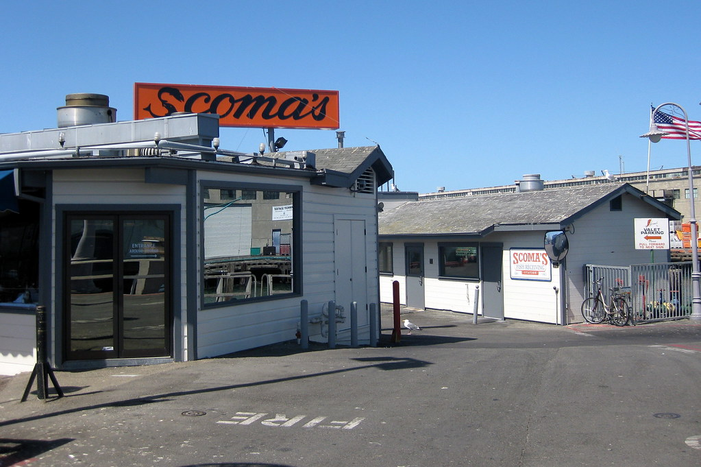 kitchen stool cabinet racks san francisco - fisherman's wharf: scoma's restaurant | flickr