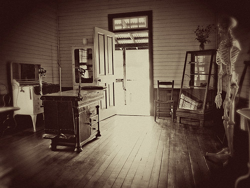 Doctors Office  Late 1800s Doctors office at the