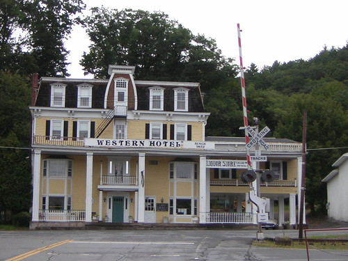 Western Hotel Callicoon New York  This old hotel is