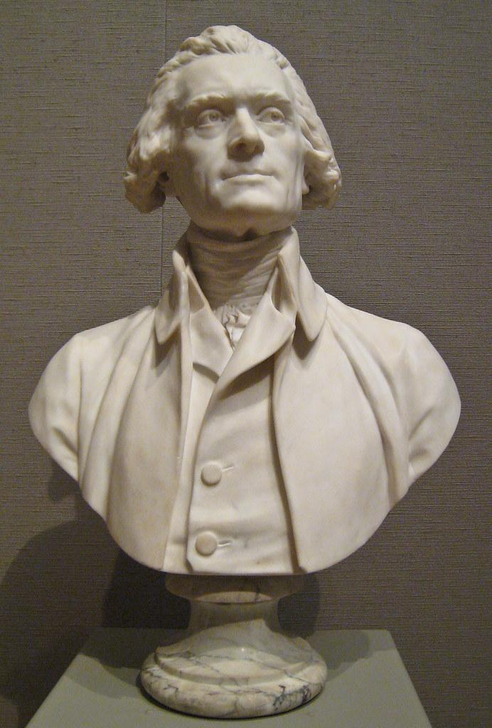 JeanAntoine Houdon Thomas Jefferson 1789  Sharon