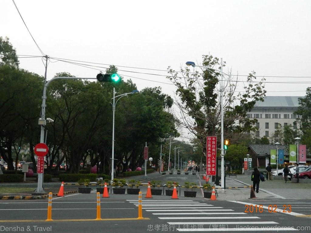 忠孝路行人徒步區