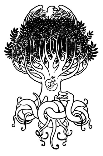 Yggdrasil Tattoo Designs