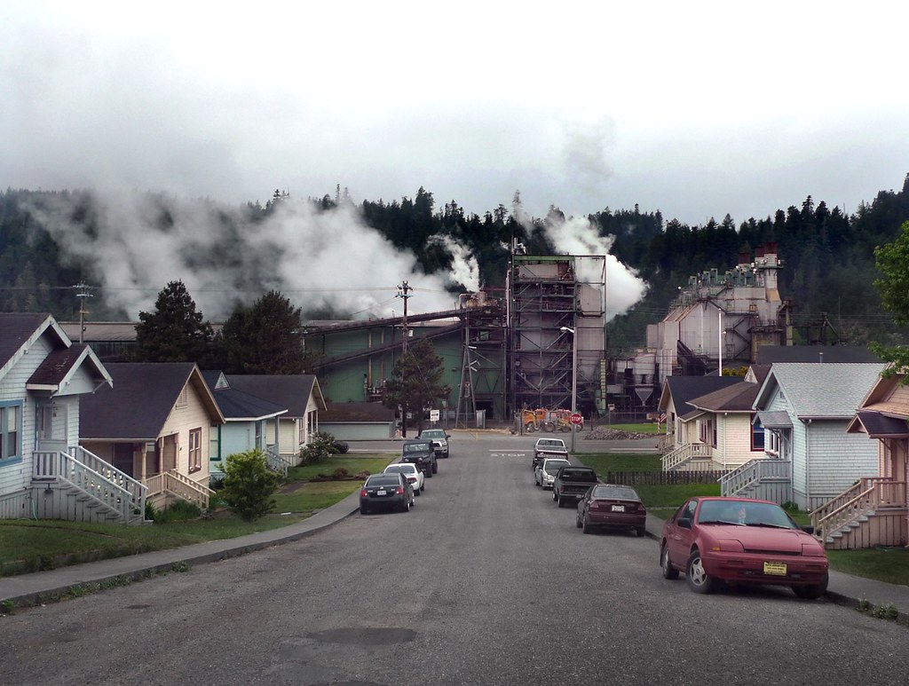 Scotia California  Pacific Lumber Company PALCO