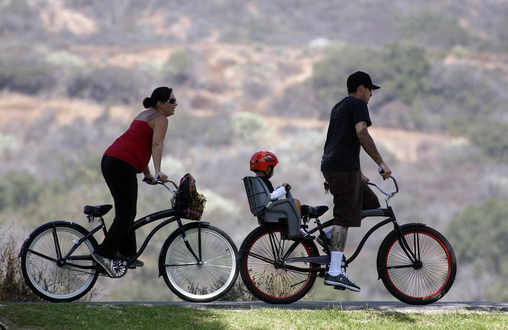 Irvine Regional Park Bike Family  Irvine Regional Park 1