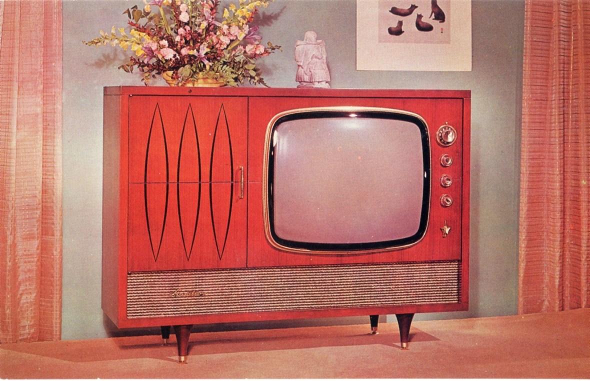Sparton 3-way 'Imperial' television - 1950s