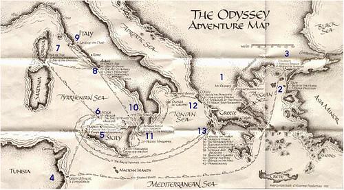 Underworld Odyssey Homer