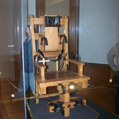 Electric Chair Was Invented By Graywash French Bistro Dining Chairs Ohio Toyskids Co Mansfield Prison Abandoned History Inventor