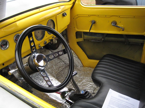 Willys gasser interior  17th annual Unfinished Nationals