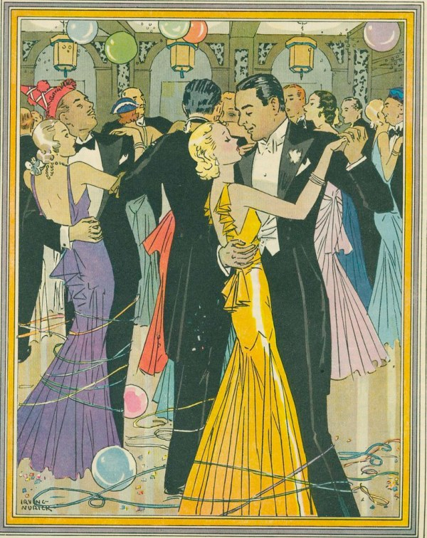 Years Eve Party 1931-1932 Ladies Home Journal 1932