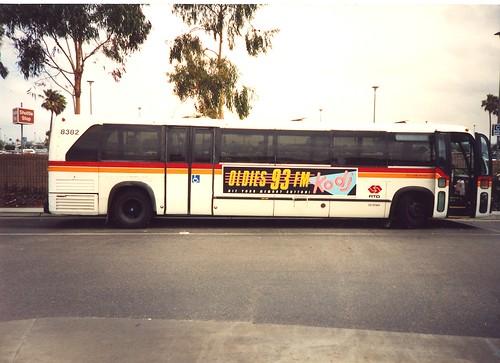 Los Angeles Rtd Bus Map