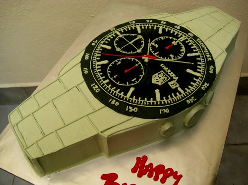 Watch Cake Cake In The Shape Of A Tag Heuer Carrera