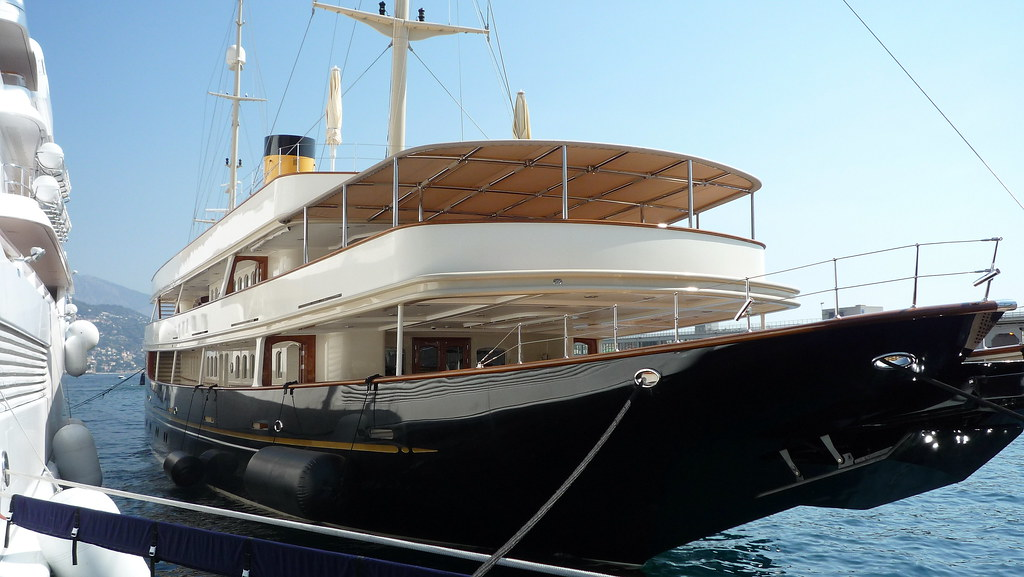 Lady Moura  Nero Yacht in Monaco  Lady Moura  344 Feet