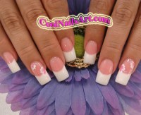 Pink and White Nail Art | www.coolnailsart.com is a ...