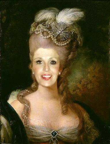 Marie Antoinette Frisur Marie Antoinette Frisur Gemälde Flickr