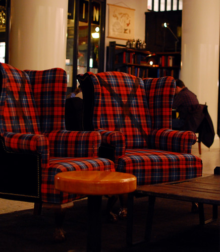 Ace Hotel NYC lobby plaid chairs  TPWP  Flickr