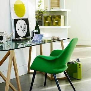 world market desk chair decorative office chairs green + modern: charles eames & eero saarinen organic shel…   flickr