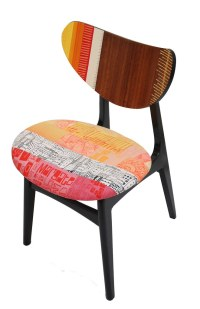 Hand Made Recycled Silk Dining Chair | Zoe Murphy | Flickr