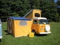 Volkswagen Campmobile With Auxiliary Tent | Volkswagen ...