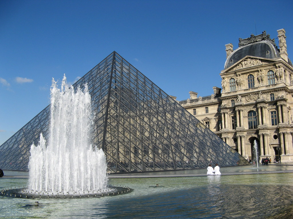 Pyramid The Louvre  The French hated it at first now