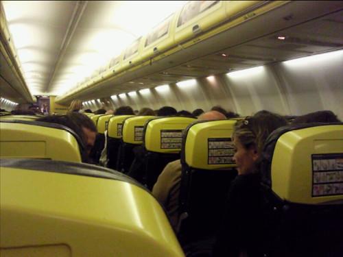 Inside Ryanair plane  Karen Bryan  Flickr
