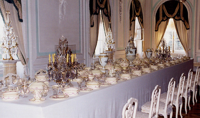 Peterhof  White Dining Room  The White Dining Room in