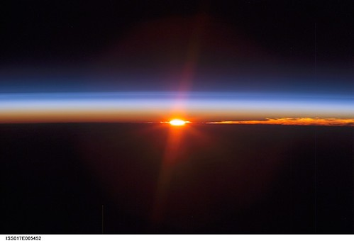 Earth S Sunset Nasa International Space Station Science