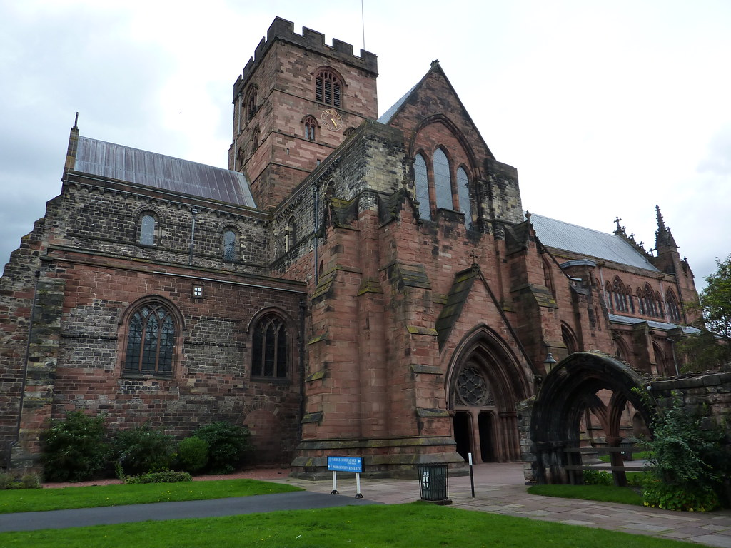 Carlisle Cathedral  Finding a bench I sat down ate a final  Flickr