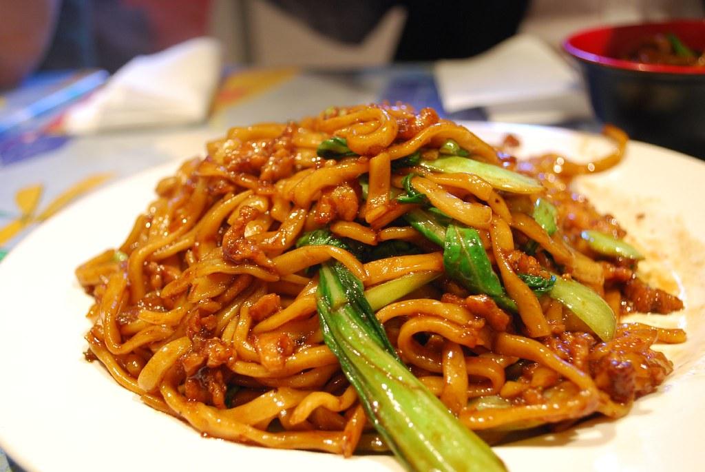 Shanghai Fried Noodle  Shanghai Noodle AUD8  Flickr
