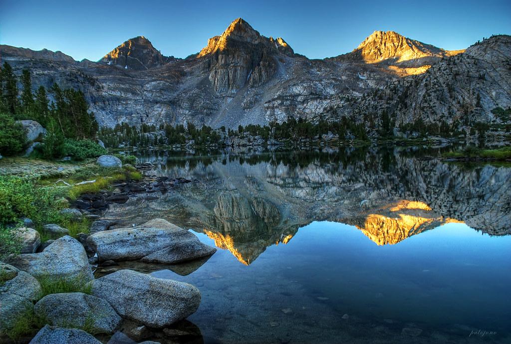 Windows 10 Fall Usa Wallpapers 4k Sunrise Reflections At Rae Lakes Kings Canyon National P
