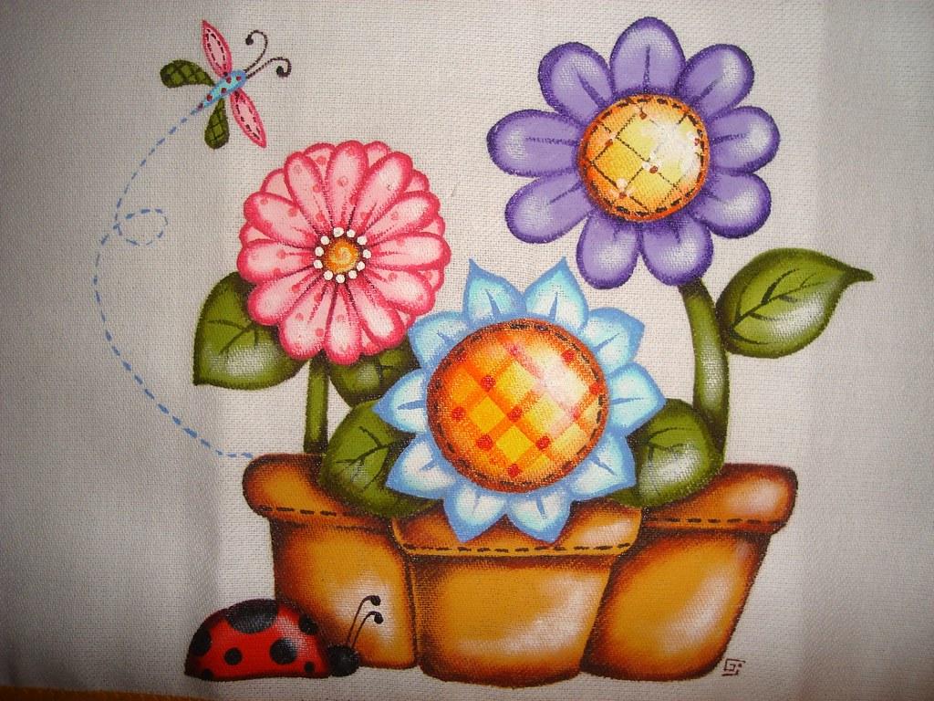 Pintura em tecido  gigimichalsky  Flickr