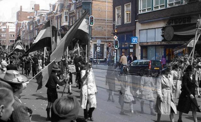 Netherlands Fall Wallpaper Ghosts Of War Amsterdam Vijzelstraat Masks On Parade
