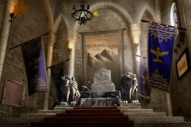 throne fantasy dnd castle king concept rooms kings dark interior