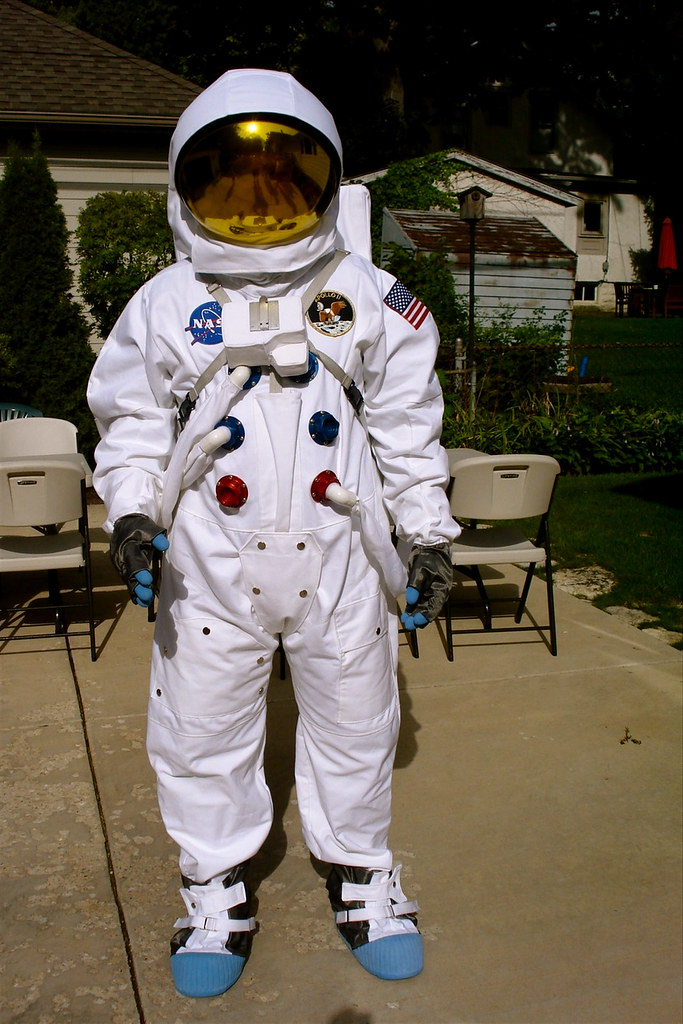 1  This is my Apollo 13 suit  pretty much an exact