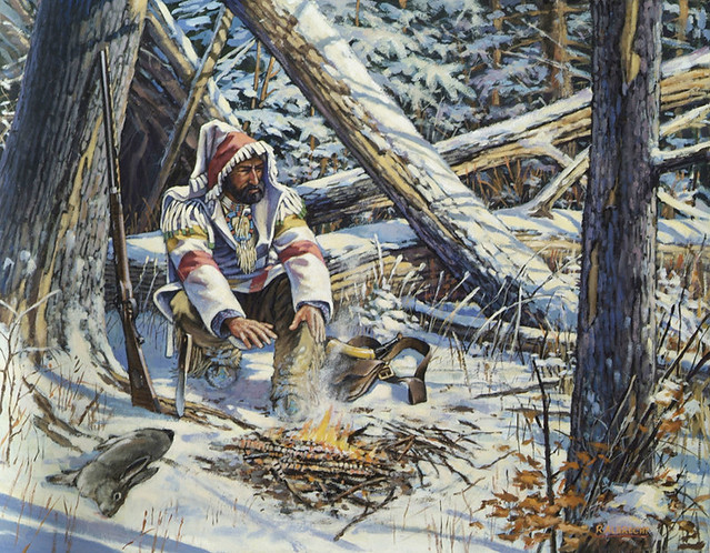 Wolf Quotes Wallpaper Trapper S Feast By Robert Albrecht Albrechtart Com Cover