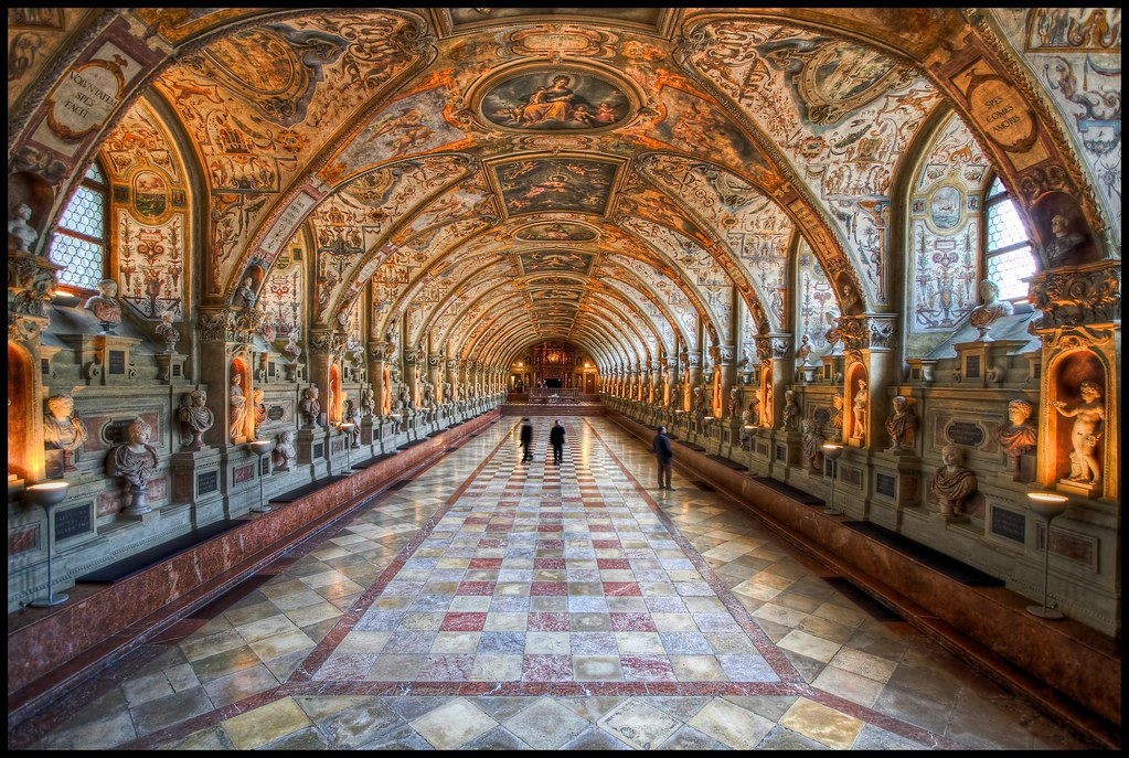 The Antiquarium in the Munich Residenz HDR  About The Resid  Flickr