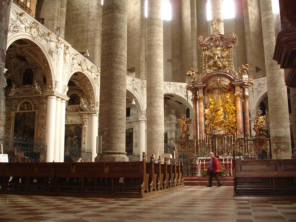 Franziskanerkirche Salzburg There Has Been A Church On