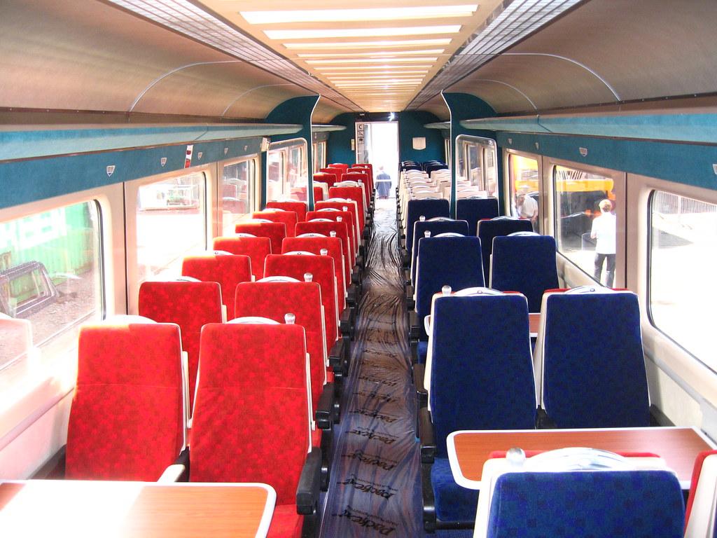 Intercity Charter Train Refurbished 2009 And 2013 Stan