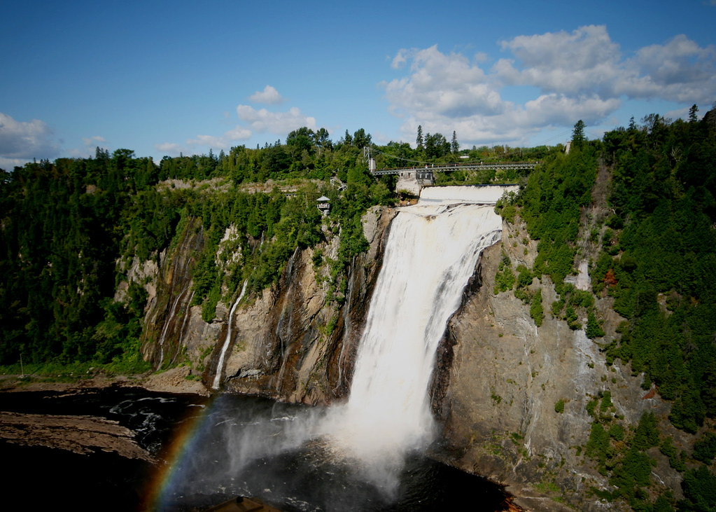Beautiful Niagara Falls Wallpaper 6 Montmorency Falls Qu 233 Bec From Wikipedia Quot The