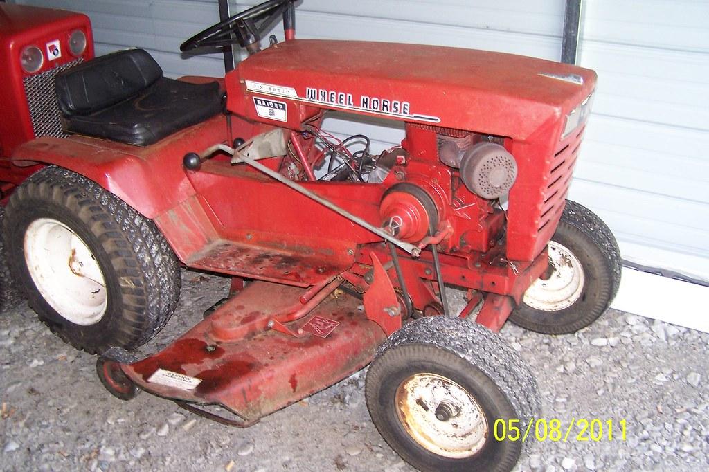 wiring diagram wheel horse lawn tractor ford e250 radio 1968 raider 9   first model w… flickr