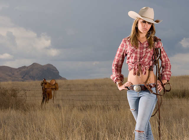 Back Girl Wallpaper Cowgirl Brittany Brittany On The Range South Of Sonoita