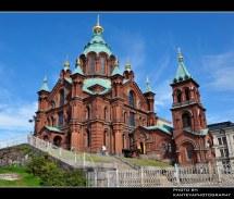 Uspenski Orthodox Cathedral Helsinki Finland