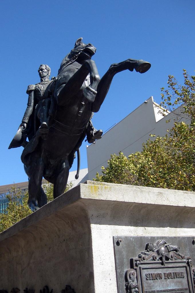 San Francisco  Civic Center Simn Bolvar Statue  Flickr