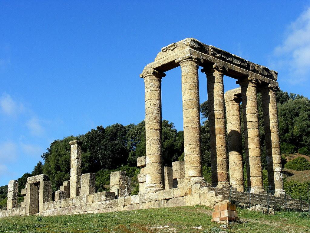 Tempio di Antas Fluminimaggiore  Grande  Manna  Large
