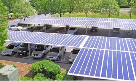 Solar Carport  Solar panel design features can be